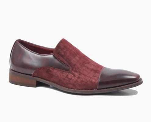 CRUZ MENS BURGUNDY-BURGUNDY ANGLE
